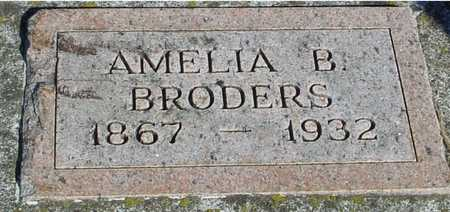 BRODERS, AMELIA B. - Woodbury County, Iowa | AMELIA B. BRODERS