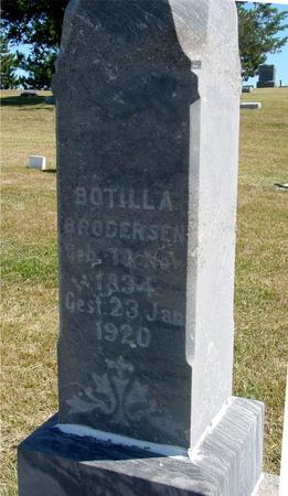 BRODERSEN, BOTILLA - Woodbury County, Iowa | BOTILLA BRODERSEN
