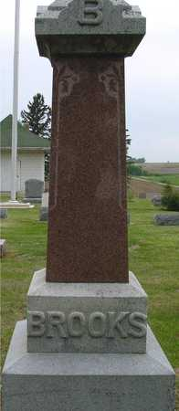 BROOKS, FAMILY MONUMENT - Woodbury County, Iowa | FAMILY MONUMENT BROOKS