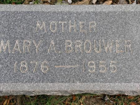 BROUWER, MARY A. - Woodbury County, Iowa | MARY A. BROUWER