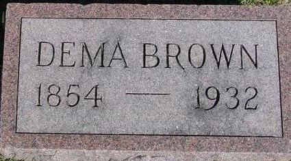 BROWN, DEMA - Woodbury County, Iowa | DEMA BROWN