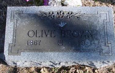 BROWN, OLIVE - Woodbury County, Iowa | OLIVE BROWN