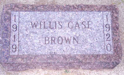 BROWN, WILLIS - Woodbury County, Iowa | WILLIS BROWN