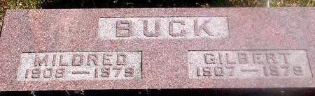 BUCK, GILBERT & MILDRED - Woodbury County, Iowa | GILBERT & MILDRED BUCK