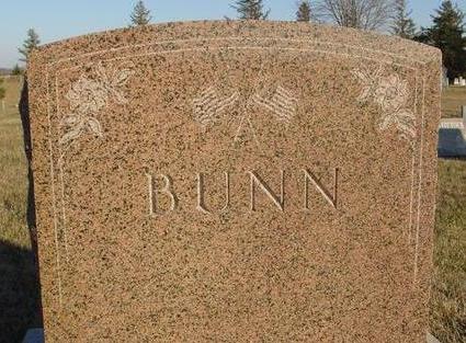 BUNN, MONUMENT - Woodbury County, Iowa | MONUMENT BUNN