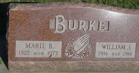 BURKE, WILLIAM J. & MARIE - Woodbury County, Iowa | WILLIAM J. & MARIE BURKE