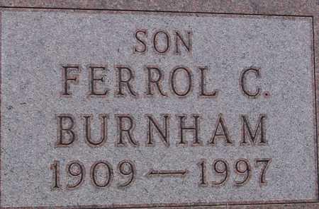 BURNHAM, FERROL C. - Woodbury County, Iowa | FERROL C. BURNHAM