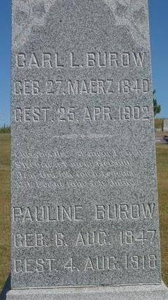 BUROW, CARL & PAULINE - Woodbury County, Iowa | CARL & PAULINE BUROW
