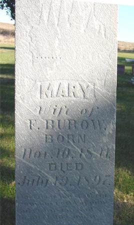 BUROW, MARY - Woodbury County, Iowa | MARY BUROW