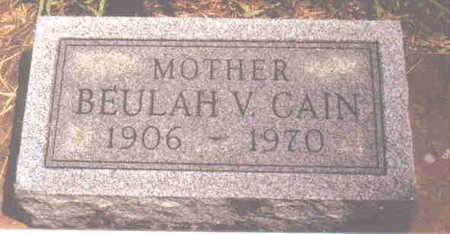 CAIN, BEULAH VIVIAN - Woodbury County, Iowa | BEULAH VIVIAN CAIN