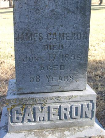 CAMERON, JAMES - Woodbury County, Iowa | JAMES CAMERON