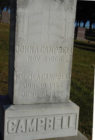 CAMPBELL, JOHN & MAGGIE - Woodbury County, Iowa   JOHN & MAGGIE CAMPBELL