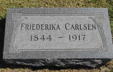 CARLSEN, FRIEDERIKA - Woodbury County, Iowa | FRIEDERIKA CARLSEN