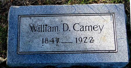 CARNEY, WILLIAM D. - Woodbury County, Iowa | WILLIAM D. CARNEY