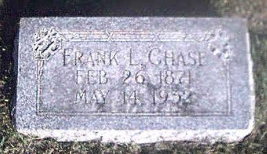 CHASE, FRANK L. - Woodbury County, Iowa | FRANK L. CHASE