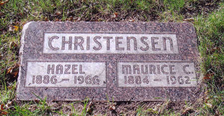 CHRISTENSEN, MAURICE - Woodbury County, Iowa | MAURICE CHRISTENSEN