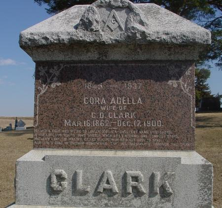 CLARK, CORA ADELLA - Woodbury County, Iowa | CORA ADELLA CLARK