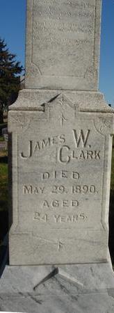 CLARK, JAMES W. - Woodbury County, Iowa | JAMES W. CLARK