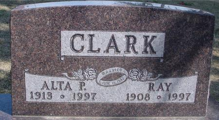 CLARK, RAY & ALTA P. - Woodbury County, Iowa | RAY & ALTA P. CLARK