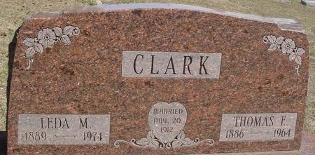 CLARK, THOMAS & LEDA - Woodbury County, Iowa | THOMAS & LEDA CLARK