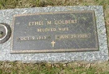 COLBERT, ETHEL M - Woodbury County, Iowa | ETHEL M COLBERT