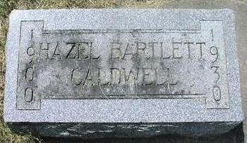 BARTLETT COLDWELL, HAZEL - Woodbury County, Iowa | HAZEL BARTLETT COLDWELL