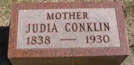 CONKLIN, JUDIA - Woodbury County, Iowa | JUDIA CONKLIN