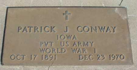 CONWAY, PATRICK J. - Woodbury County, Iowa | PATRICK J. CONWAY