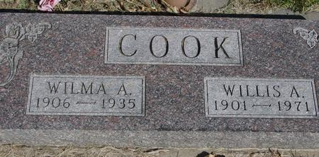COOK, WILLIS & WILMA A. - Woodbury County, Iowa | WILLIS & WILMA A. COOK