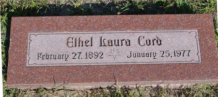 CORD, ETHEL LAURA - Woodbury County, Iowa | ETHEL LAURA CORD