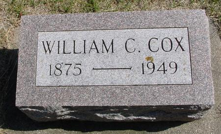 COX, WILLIAM C. - Woodbury County, Iowa | WILLIAM C. COX