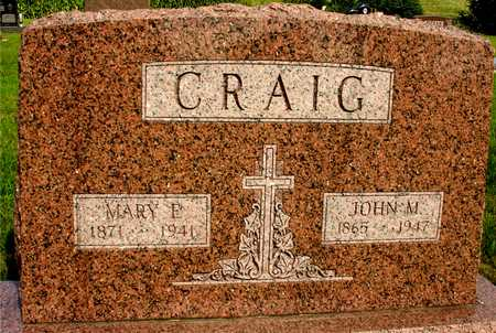 CRAIG, JOHN M. & MARY - Woodbury County, Iowa | JOHN M. & MARY CRAIG
