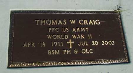 CRAIG, THOMAS W. - Woodbury County, Iowa | THOMAS W. CRAIG