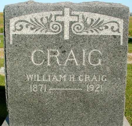 CRAIG, WILLIAM H. - Woodbury County, Iowa | WILLIAM H. CRAIG