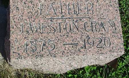 CRAM, J. WESTON - Woodbury County, Iowa | J. WESTON CRAM
