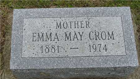 CROM, EMMA MAY - Woodbury County, Iowa | EMMA MAY CROM