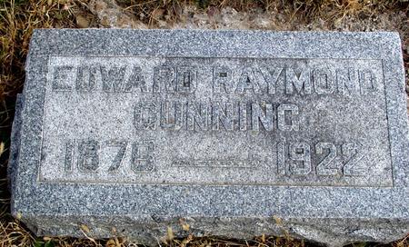 CUNNING, EDWARD RAYMOND - Woodbury County, Iowa | EDWARD RAYMOND CUNNING