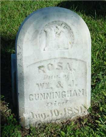 CUNNINGHAM, ROSA - Woodbury County, Iowa | ROSA CUNNINGHAM