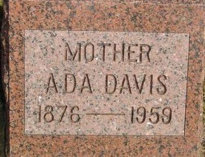 DAVIS, ADA - Woodbury County, Iowa | ADA DAVIS