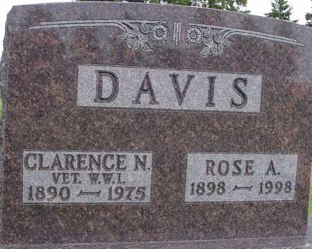DAVIS, CLARENCE & ROSE A. - Woodbury County, Iowa | CLARENCE & ROSE A. DAVIS