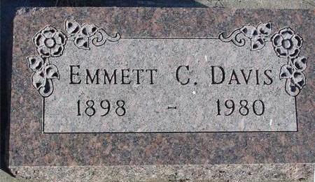 DAVIS, EMMETT C. - Woodbury County, Iowa | EMMETT C. DAVIS