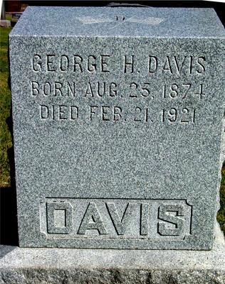 DAVIS, GEORGE H. - Woodbury County, Iowa | GEORGE H. DAVIS