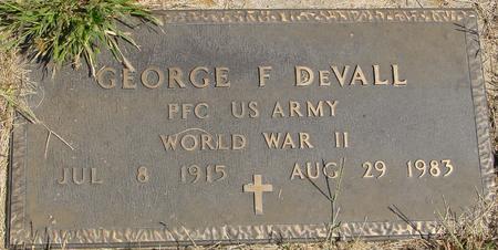 DEVALL, GEORGE F. - Woodbury County, Iowa   GEORGE F. DEVALL