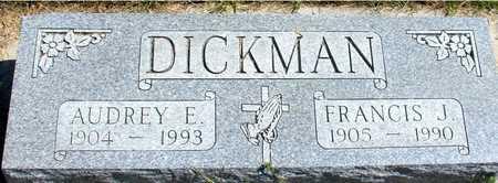 DICKMAN, FRANCIS & AUDREY - Woodbury County, Iowa | FRANCIS & AUDREY DICKMAN