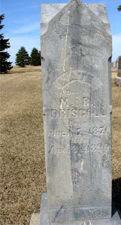 DRISCOLL, KATE - Woodbury County, Iowa | KATE DRISCOLL