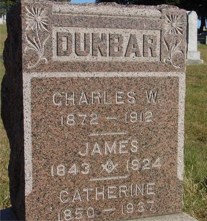 DUNBAR, JAMES & CATHERINE - Woodbury County, Iowa | JAMES & CATHERINE DUNBAR