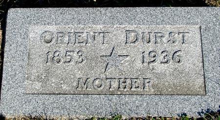 DURST, ORIENT - Woodbury County, Iowa | ORIENT DURST
