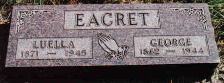 EACRET, GEORGE - Woodbury County, Iowa | GEORGE EACRET