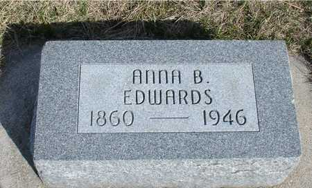 EDWARDS, ANNA B. - Woodbury County, Iowa | ANNA B. EDWARDS