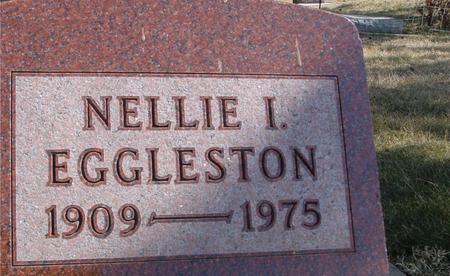 EGGLESTON, NELLIE I. - Woodbury County, Iowa | NELLIE I. EGGLESTON